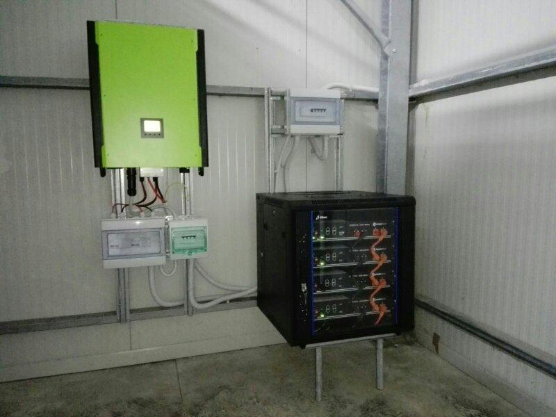 Off-Grid a servizio di un'azienda agricola
