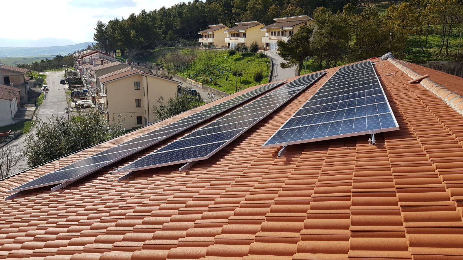 Impianto fotovoltaico Comune di Greci (AV)
