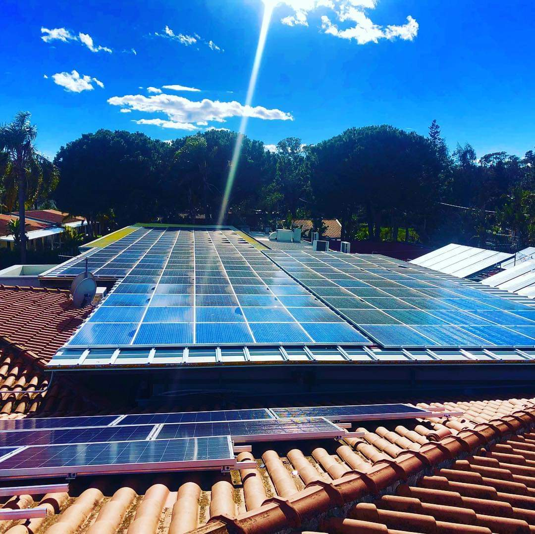 "Impianto fotovoltaico al ""Villaggio Oasis Resort"" di Capaccio"