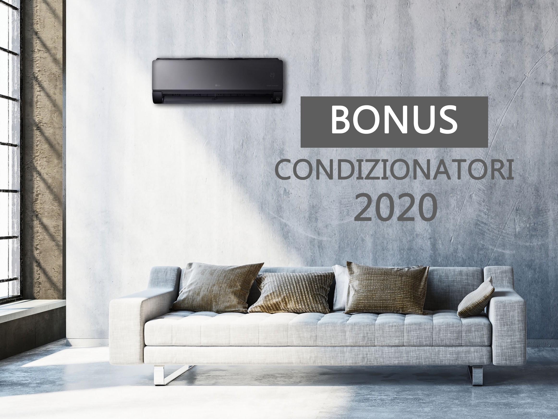 Bonus condizionatori: agevolazioni fiscali anche nel 2020