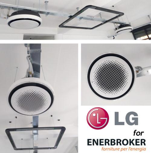 EnerBroker, la prima in Italia ad installare le cassette Round di LG