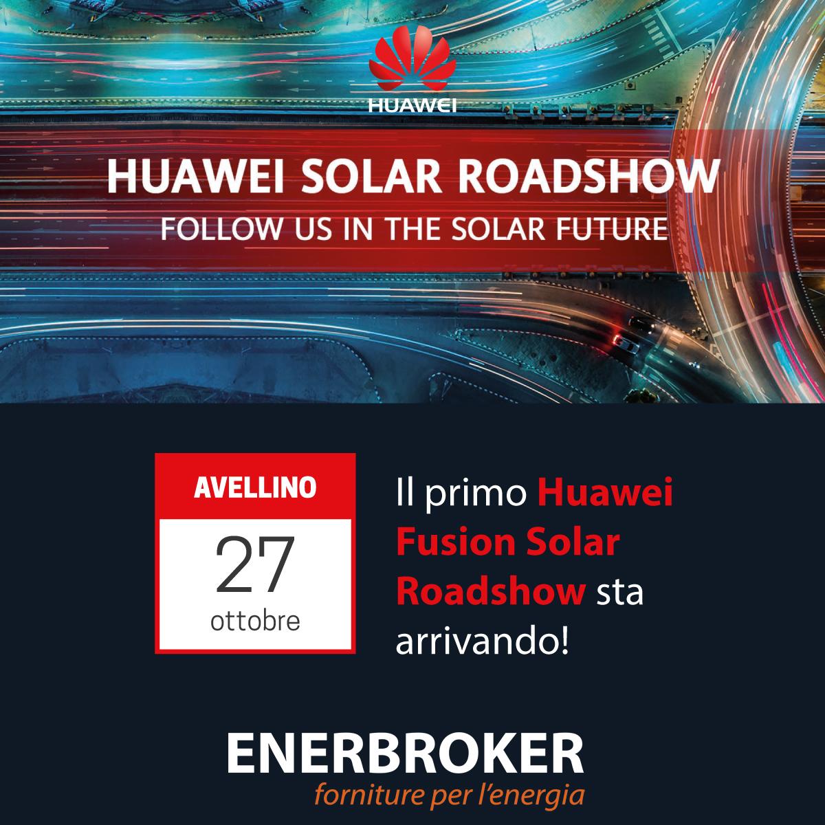 EnerBroker ospita il primo Huawei FusionSolar Roadshow
