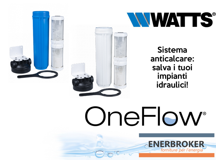 Sistema anticalcare OneFlow di Watts: salva il sistema idraulico