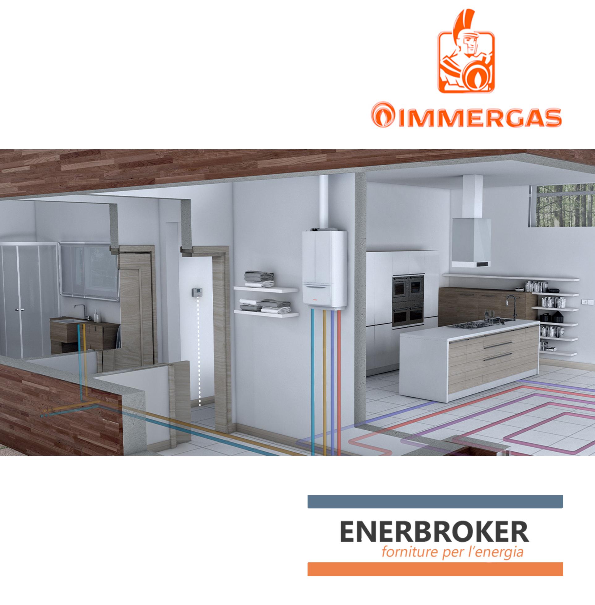 Nuovo accordo commerciale tra EnerBroker e Immergas