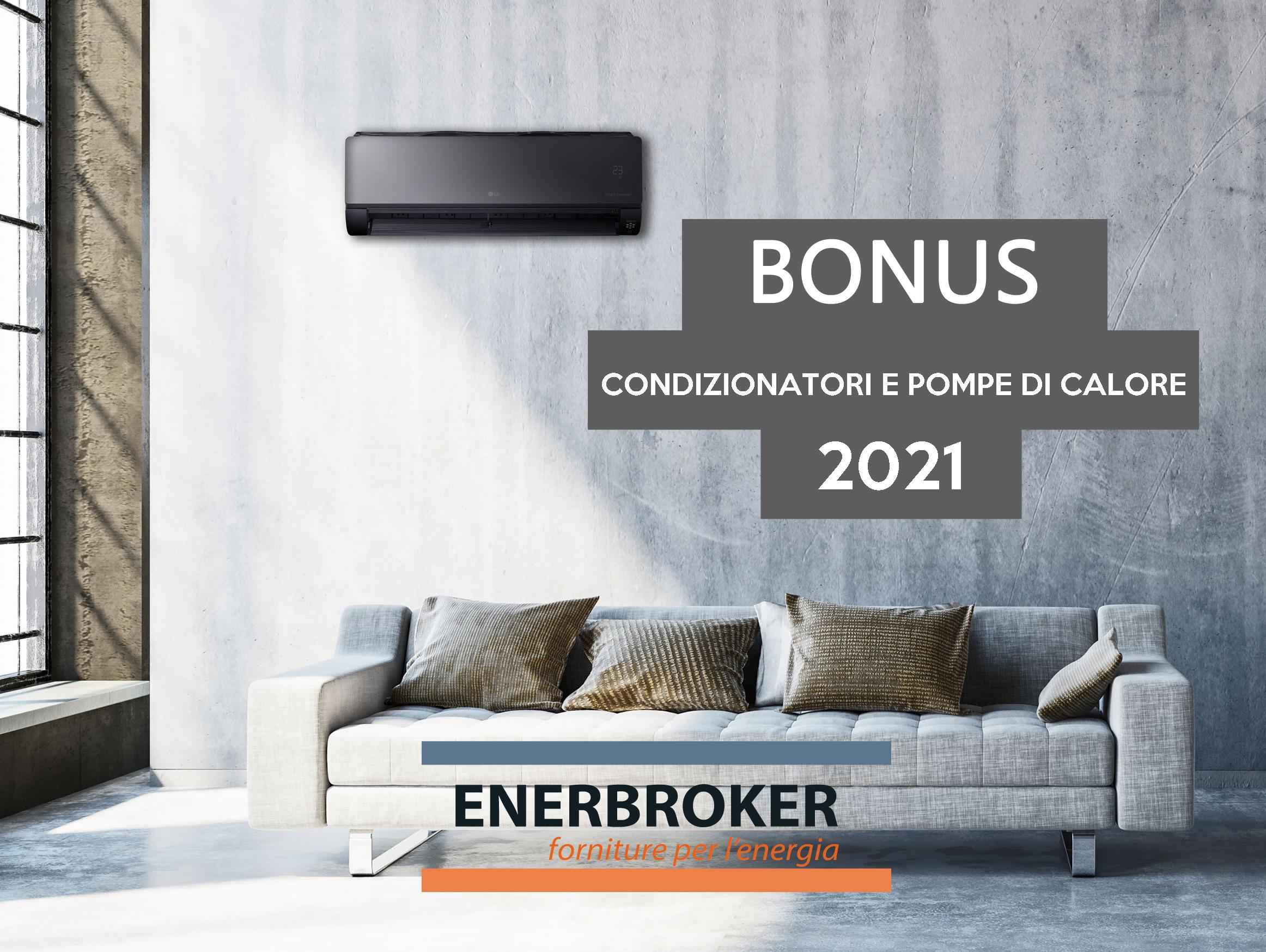 Bonus condizionatori e pompe di calore, c'è tempo fino al 31 dicembre 2021